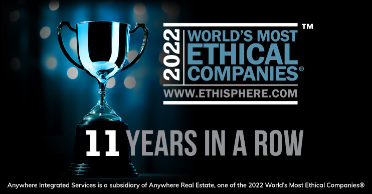 Ethisphere World's most ethical companies award 8 years in a row